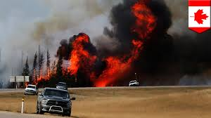 Wildfire Fighting Canada by Canadian Wildfire Cooler Weather Helps Firefighters Contain Fort