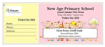 how to make raffle tickets on word 40 free editable raffle u0026 movie ticket templates