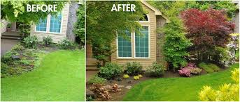small front yard landscaping before and after lessons from the