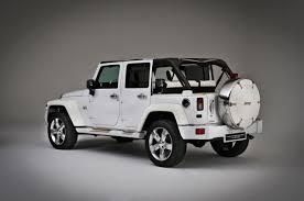 jeep wrangler white 4 door concept car jeep wrangler nautic by style u0026 design 2011 sahara
