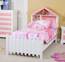 Single Girls Bed by Inspiring Bedroom With White Wooden Single Toddler Bed For Girls