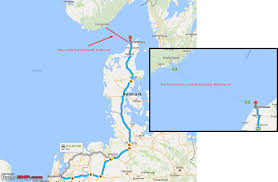 Norwegian Air Shuttle Route Map by A Glimpse Of Norway A Week On The Roads Team Bhp
