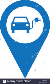 electric vehicles symbol pinpoint icon stock photos u0026 pinpoint icon stock images alamy