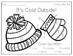 winter color by letter print u0026 go teacherlingo com