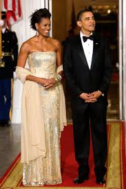 obama dresses obama s best state dinner dresses photos