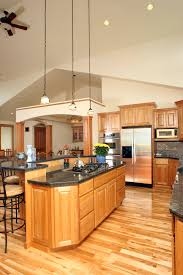 Red Birch Kitchen Cabinets Affordable Custom Cabinets Showroom