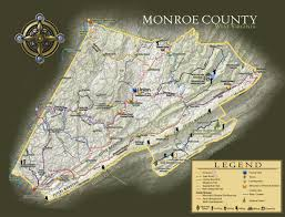 Virginia Map Counties by Get Real In Monroe County West Virginia