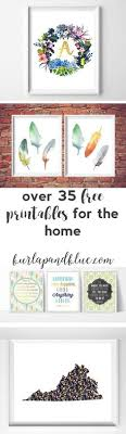 free printable art home decor roundup free printables for gallery walls gallery wall free