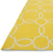 Yellow Outdoor Rug Rugs Curtains Attractive Yellow And Ivory Trellis Indoor