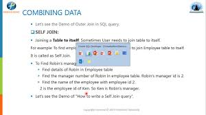 sql query join tutorial sql join operators append data in sql merge data in sql part 9