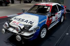 nissan dakar nissan s12 rally car s12