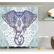 paisley shower curtains