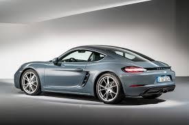 porsche cayman pricing porsche puts the boost in 718 cayman revealed by car magazine