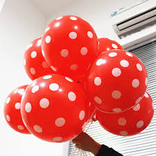 polka dot balloons 20pc 12 inch polka dots balloons wedding birthday balloons