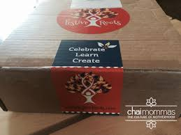 festive roots trunk kids diwali crafts in a box chai mommas