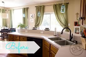 Refinish Kitchen Countertop Kit - kitchen countertop makeover the diy village
