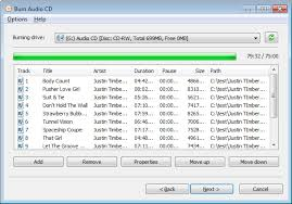 download free mp3 to cd converter burner burn audio cd from musical files