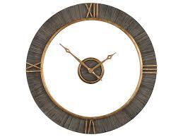 uttermost clocks alphonzo modern wall clock dunk u0026 bright