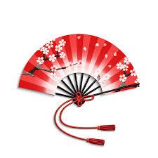 japanese folding fan japanese folding fan stock vector image 52588809