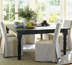 Best Square Tables Images On Pinterest Square Dining Tables - Pottery barn dining room set