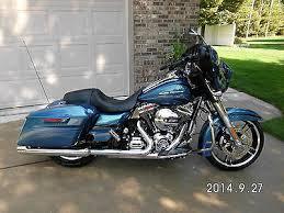 2014 harley street glide daytona blue motorcycles for sale