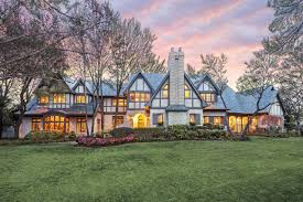 English Tudor Style House House Of The Day Old And New In Dallas Tudor Wsj