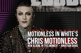 chris motionless news