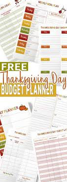 free thanksgiving day planner my stay at home adventures
