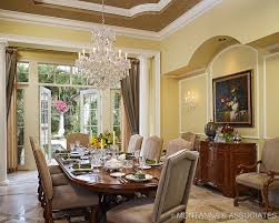 dining room crystal chandelier home interior decorating