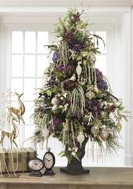plum purple with soft muted gold tree royal and