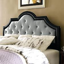 Upholstered And Wood Headboard Tufted Headboard Wood Trim Tufted Leather And Wood Headboard Wood