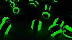green lightning balls by michfron on deviantart