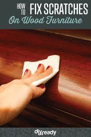 Fix Scratches In Wood Furniture how to fix scratches on wood furniture diy projects craft ideas