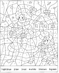 coloring numbers worksheets mreichert kids worksheets
