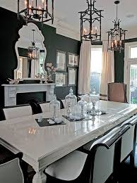 Best  Black Dining Rooms Ideas On Pinterest Dark Dining Rooms - White and black dining table