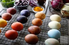 easter egg dyes easter egg dye recipes tried and tasty