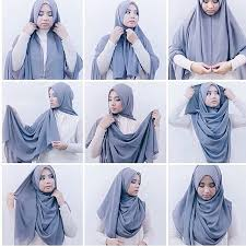 tutorial hijab pashmina tanpa dalaman ninja the peach prince