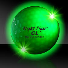multi color golf balls variety of colors lighted balls