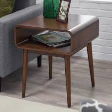 Midcentury Coffee Table Amazon Com Belham Living Carter Mid Century Modern Side Table