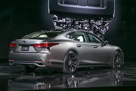lexus ls sedan 2018 lexus ls first look automobile magazine