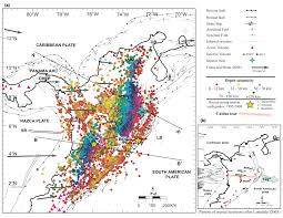 Map Of Colombia Caldas Tear U0027 Resolves Puzzling Seismic Activity Beneath Colombia