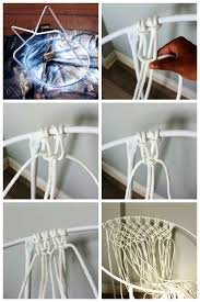 furniture amazing ideas about macrame chairs diy swing chair