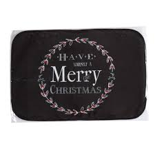2017 wholesale christmas decorations for home entrance door mats