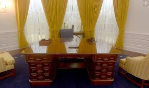Oval Office Renovation Nixon Library U0027s Oval Office Replica A 360 Degree Panoramic View