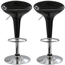 Bar Stool Sets Of 2 Amazon Com Amerihome Bs103blkset Adjustable Height Bar Stool