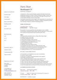 Bookkeeping Resumes Samples by Sample Resume Bookkeeper Bookkeeping Resume Example Accounting
