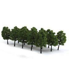 ho scale model railroad trees ebay