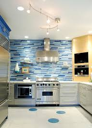 kitchen backsplash blue kitchen back splashes with blue combine several different shades