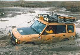 yellow land rover discovery land rover camel trophy discovery