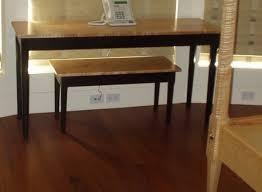 shaker sofa table glove table hall table sofa table